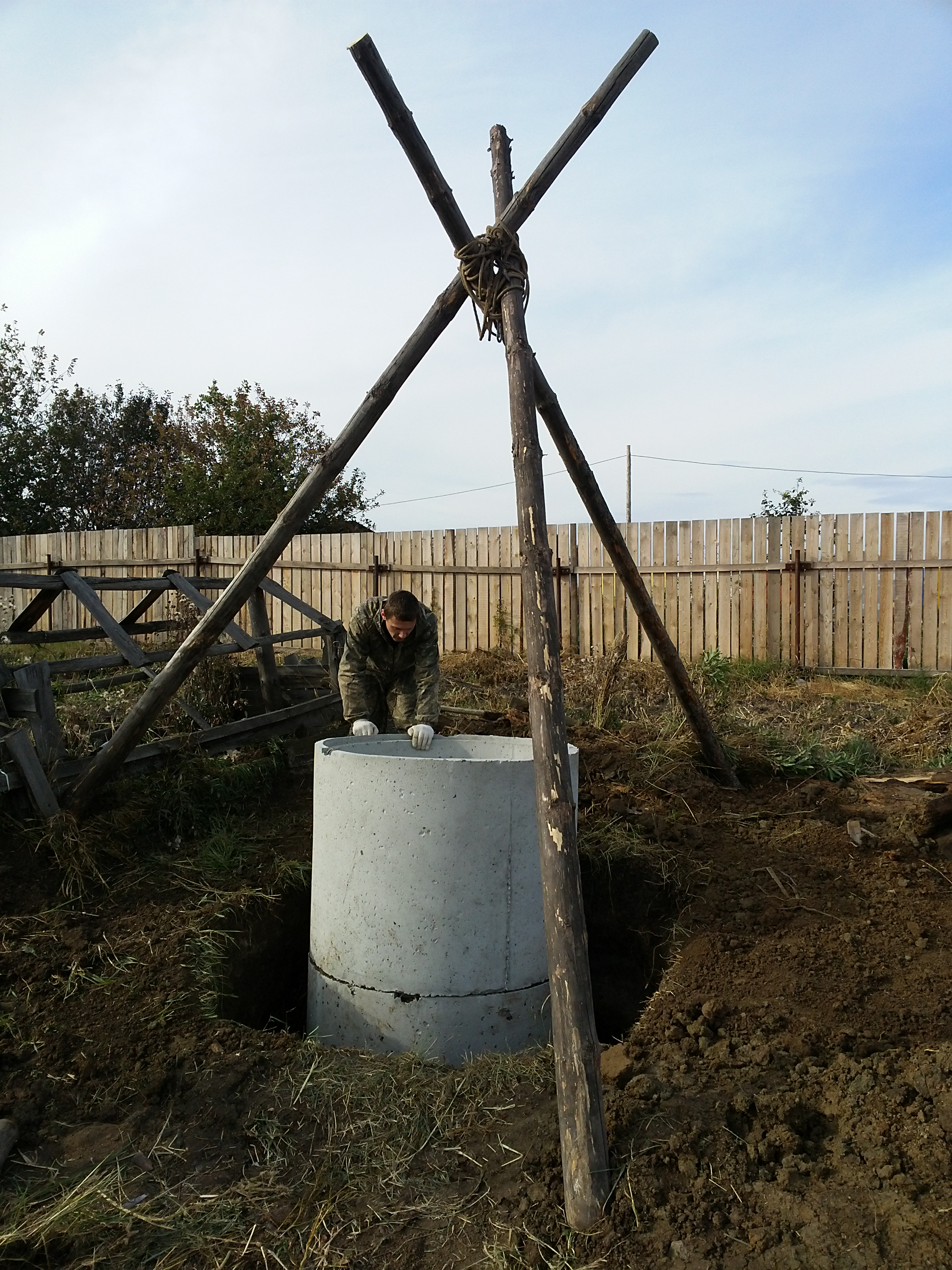ремонт колодцев в Тюмени